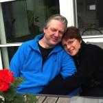 Alain Craens en echtgenote