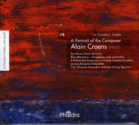 A Portrait of Alain Craens audio CD front cover