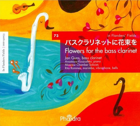 Flowers For The Bass Clarinet audio CD front cover