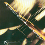 Compositieklas Willem Kersters audio CD front cover