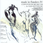 Made In Flanders IV Audio CD front cover