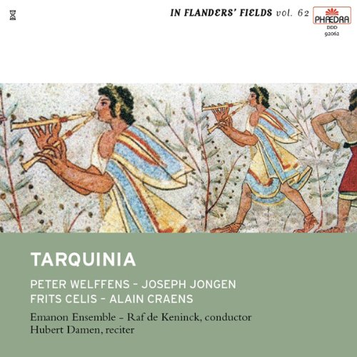 Tarquinia Audio CD front cover